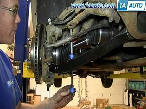 How To Install Replace Fix Broken Sway Bar Link 2000-06 Chevy