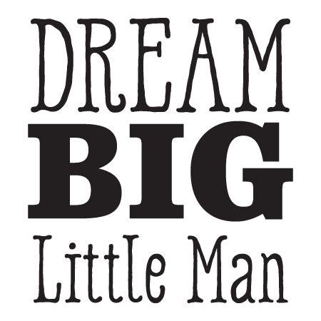 dream big  man wall quotes decal wallquotescom
