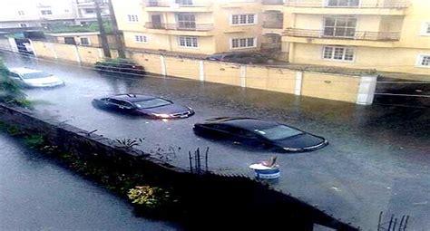 lagosians lament  flood hits lekki victoria island