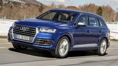 Review The Audi Sq7 Performance Suv  Top Gear