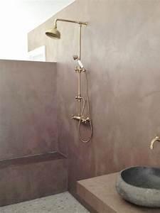 enduit chaux salle de bain evtod With enduit a la chaux salle de bain