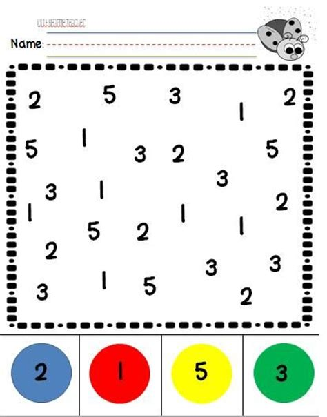 Number Recognition Christmas Worksheet  Festival Collections