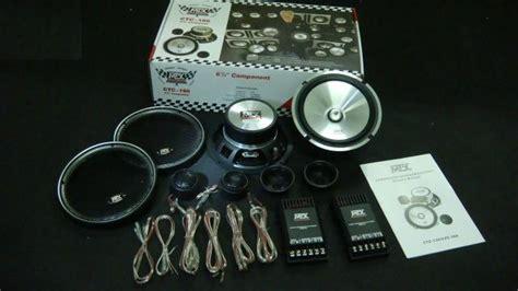 onesoul auto accessories mtx audio 6 5inch component set
