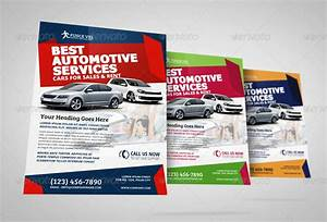 Automotive Car Sale Rental Flyer Ad Template Vol 4 By Jbn