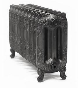 Radiateur Sur Pied : radiateur fonte r tro oxford sur pieds ~ Nature-et-papiers.com Idées de Décoration