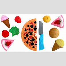 Deluxe Slice And Play Food Set Just Like Home Playset