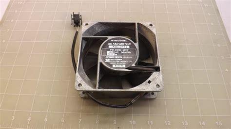 matsushita electric ase10451 ac fan motor t34352 ebay