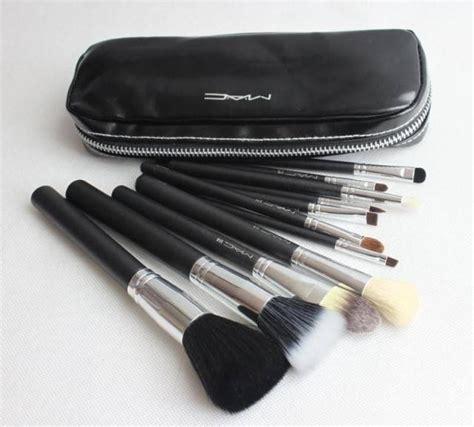 12 brochas profesionales mac maquillaje set brochas
