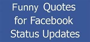 Very Funny Facebook Status Quotes. QuotesGram