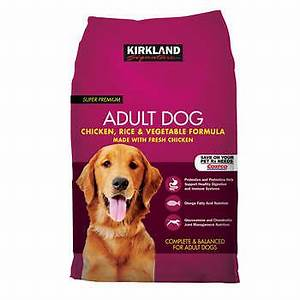 Kirkland signature adult formula chicken rice and for Costco dog food reviews