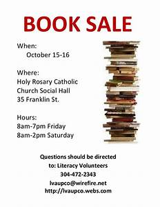 Fall Book Sale Flyer