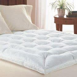 34125 king size bed topper king size goose feather mattress topper by simply bedding