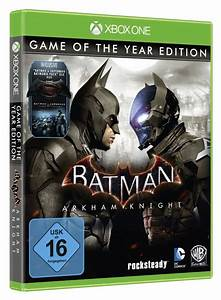 Batman  Arkham Knight Game Of The Year Edition Listed By