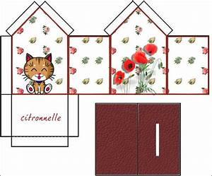 Faire Une Tirelire : patron de maison en papier a imprimer l 39 impression 3d ~ Nature-et-papiers.com Idées de Décoration
