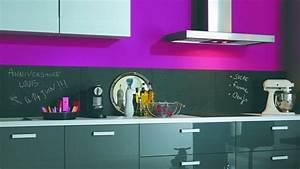 couleur credence cuisine originale deco credences cuisine With deco originale pour cuisine