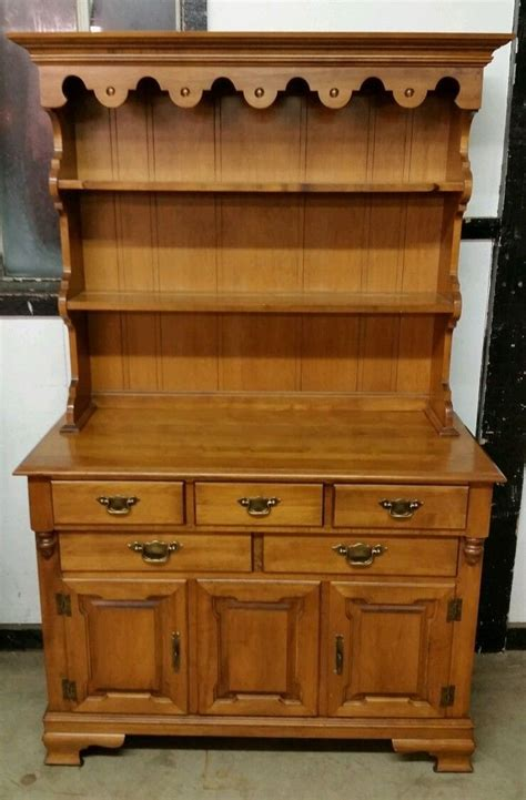 tell city china cabinet value vintage hard rock maple tell city china hutch buffet
