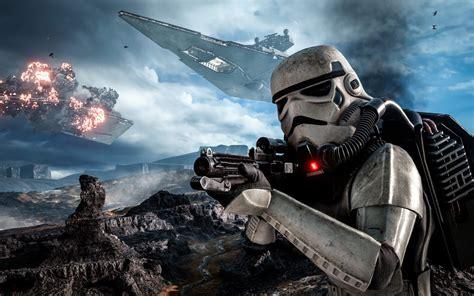 Star Wars Gameplay Battle Of Hoth Battlefront Stormtrooper