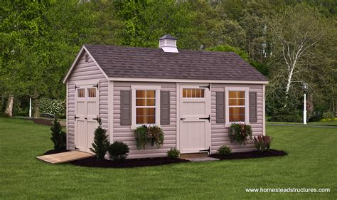 custom storage sheds  sale  pa garden sheds amish