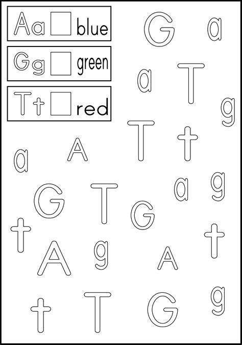 Kindergarten Worksheets Letter Recognition  Hidden Image Worksheet Alphabet Recognitionletter