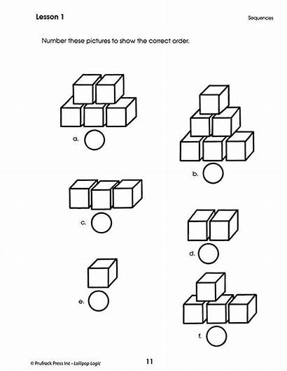 Thinking Critical Logic Activities Worksheets Grade Kindergarten