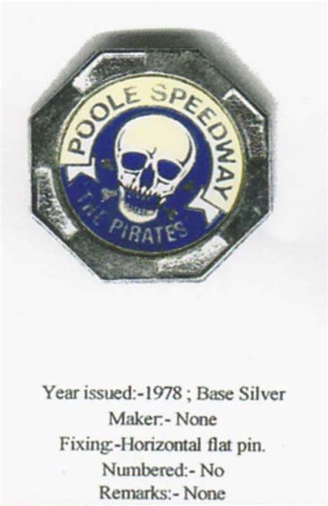 poole pirates badges