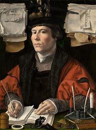 Jan Gossaert Portrait of a Merchant