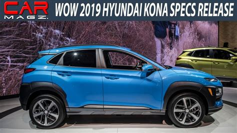 Hyundai Kona 2019 Picture by New 2019 Hyundai Kona Release Specs And Price