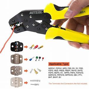 Professional Ratchet Terminal Crimper Wire Crimping Pliers