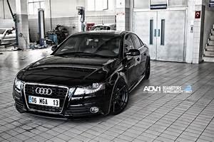 Audi A4 ADV5.2M.V2 - Matte Black Wheels - ADV.1 Wheels