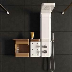 Colonne De Douche Blanche : d couvrir la meilleure colonne de douche en 53 photos ~ Dailycaller-alerts.com Idées de Décoration