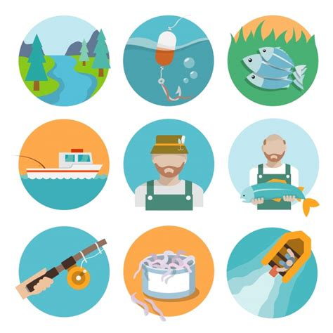 Fishing Boat Icon Free by Fishing Icons Collection Vector Free Download