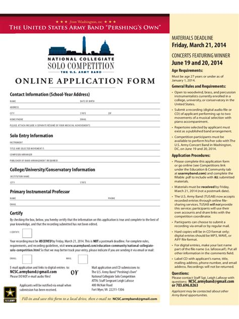 us army application form army application form 2 free templates in pdf word