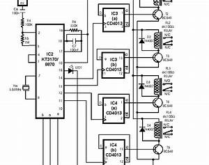 Wiring Machine  Radio Remote Control Circuit Board Diagram Car