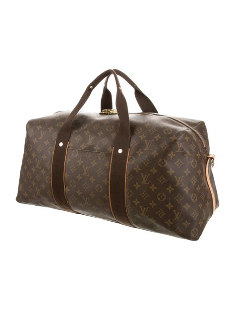 louis vuitton monogram beaubourg weekender handbags