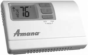 Amana Pth094g35axxx Ptac Unit With Heat Pump