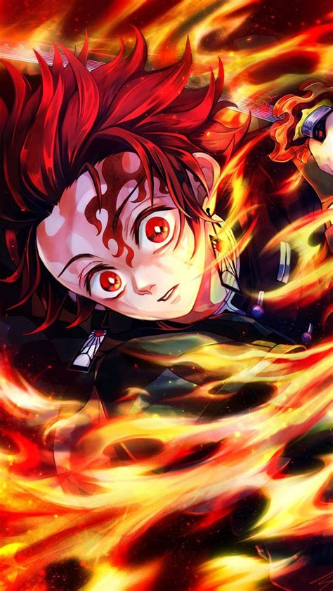 Tanjiro Kamado | Fanart anime, Wallpaper anime, Hantu