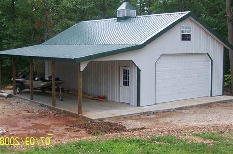 Home Ideas Pole Barn Designs Garage 30 X 32 Metal 30x40