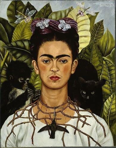Frida Kahlo Selbstbildnis Mit Dornenhalsband by Frida Kahlo Selbstbildnis Mit Dornenhalsband 1940 Flickr