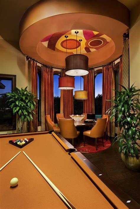 pool table room decor modern pool room designs