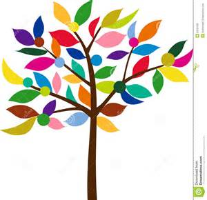 color tree royalty free stock photo image 22531205