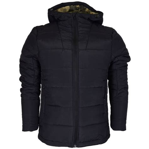 born rich rafael polyester zip black jacket clothing