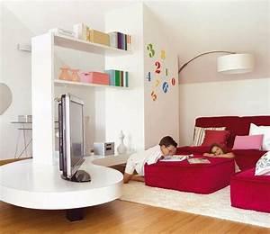 Fernseher Für Kinderzimmer : kinderzimmer mit dachschr ge 29 tolle inspirationen f r sie ~ Frokenaadalensverden.com Haus und Dekorationen