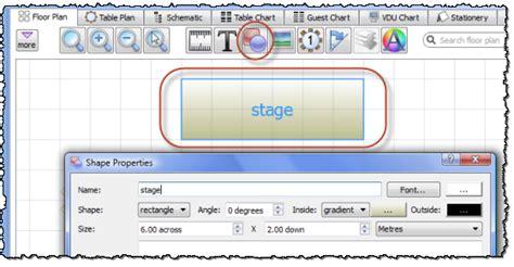 add  dance floor stage    floor plan