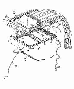 Jeep Liberty Seal  Sunroof Glass  Trim   All Trim Codes