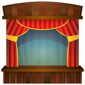 stage clip art clipartsco With theatre curtains clipart