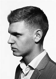 Short Hairstyles Crew Cut Men