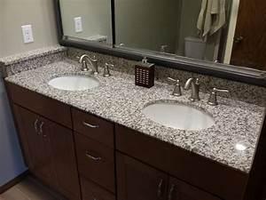 Tiger Skin Granite Countertops - Modern - Bathroom - Cedar ...