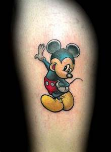 14 Marvelous Mickey Mouse Tattoos