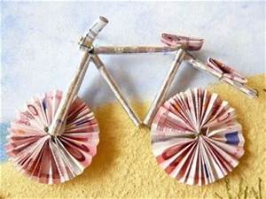 Fahrrad Aus Geldscheinen Falten : ber ideen zu fahrrad basteln auf pinterest ~ Lizthompson.info Haus und Dekorationen