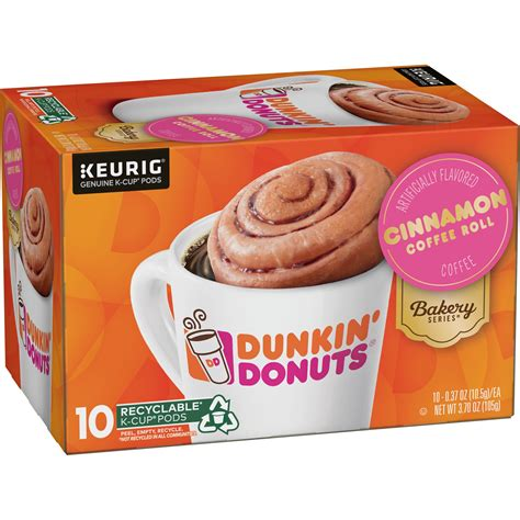 Does shopping for the best dunkin donuts pumpkin ground coffee get stressful for you? Dunkin' Donuts® Bakery Series® Cinnamon Coffee Roll ...